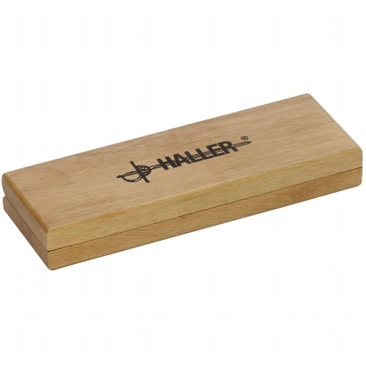 Damast-Taschenmesser mit Ebenholzgriff
