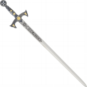 Schwert Templerorden silber