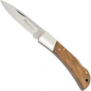 Taschenmesser mit Olivenholzgriff