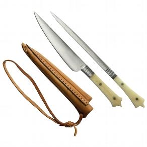 MIttelalterliches Set Messer und Spieß