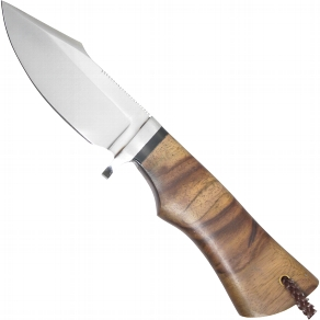 Messer mit Wurzelholzgriff