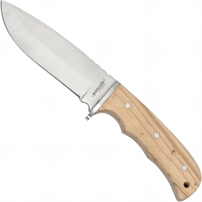 Messer mit Olivenholzgriff