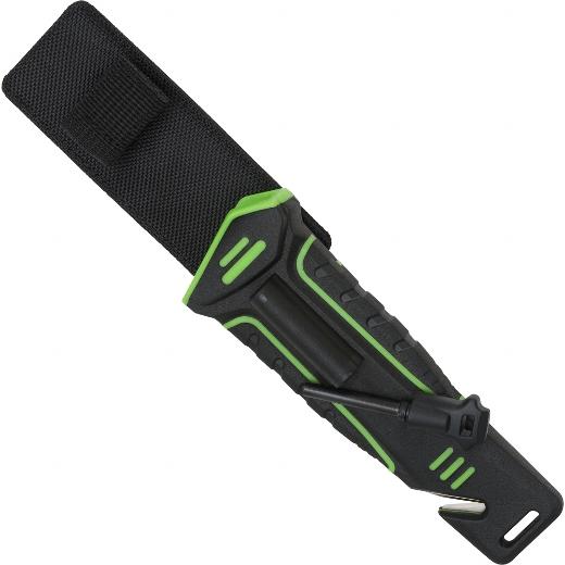 Outdoormesser grün/schwarz