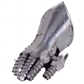 Plattenhandschuh rechte Hand