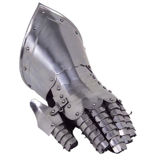 Plattenhandschuh linke Hand